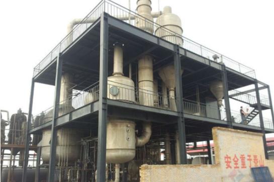 成都天甫金属粉体硝酸钠废水零排放案例