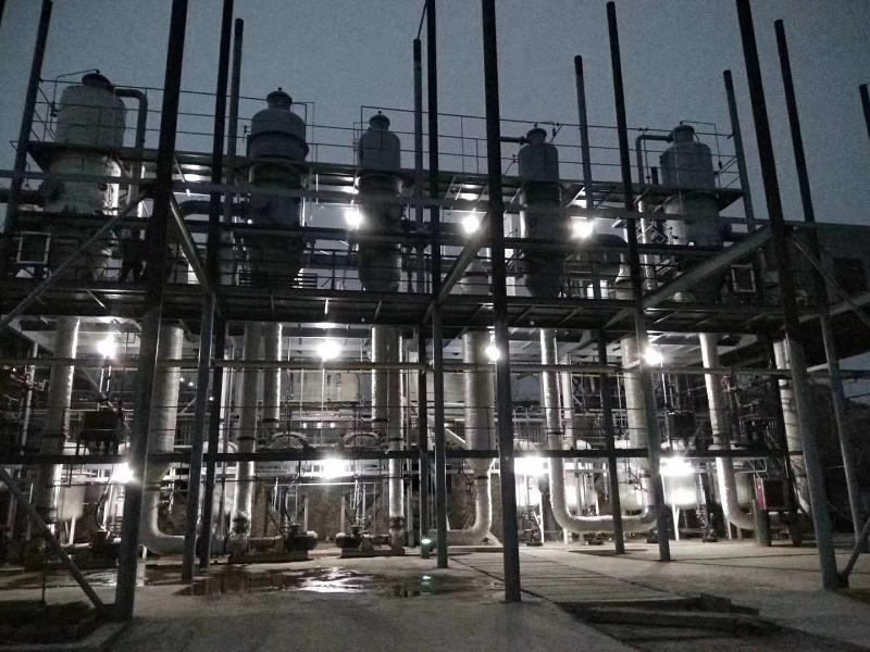 鹤壁某科技公司甲醛、甲醇、二甲胺、三甲胺废水零排放案例