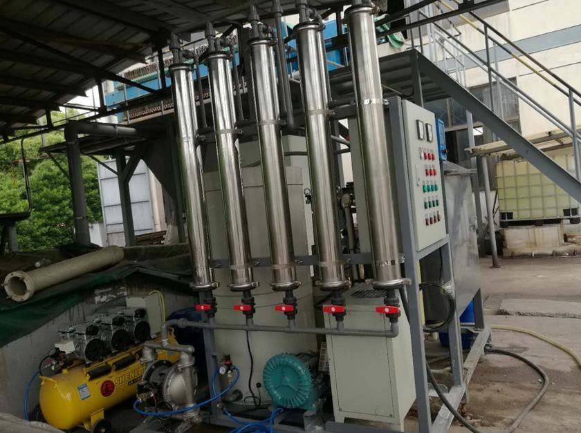 江苏某油漆涂料厂浓度水性漆生产废水案例
