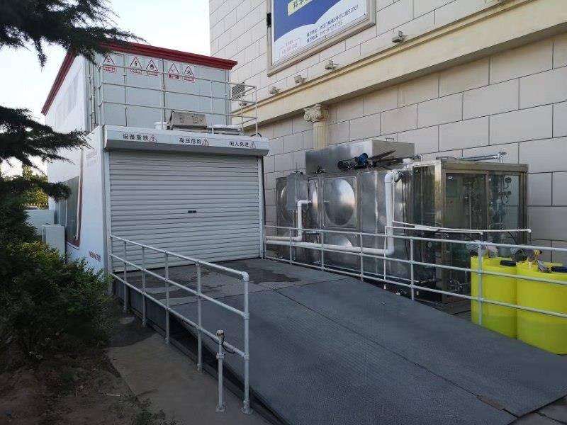 北京大红门洗车废水零排放循环处理案例