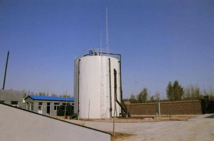 北京市顺义区大崔各庄大型沼气粪污水处理案例