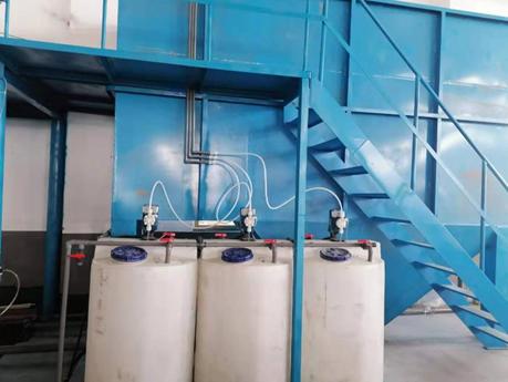 上海某食品厂废水达标排放工程案例