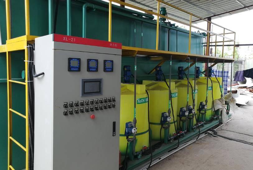 河南焦作某机械制造公司酸洗磷化废水处理工程案例