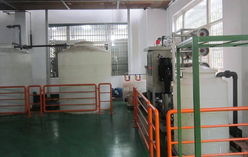 江苏无锡骏达金属表面处理废水处理工程案例