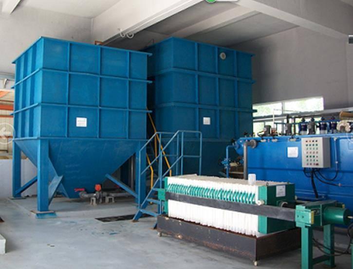 兰普电器磷化废水处理案例