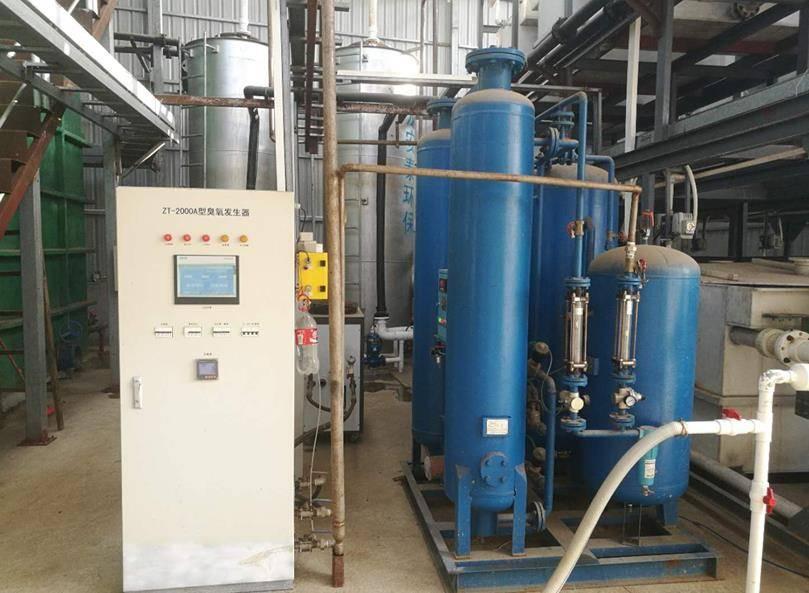 河源市垃圾渗滤液2000吨/天废水处理案例