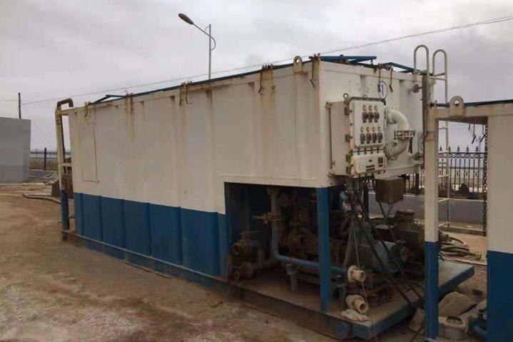 中海油压力返排液钻井废水工程电絮凝、电芬顿、膜处理案例