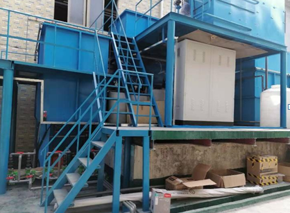 广东电梯生产废水零排放工程案例