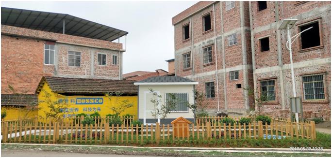 广西南宁市武鸣区农村生活污水处理试点项目案例