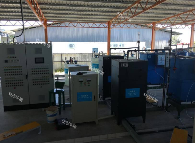 马来西亚油田废水处理案例