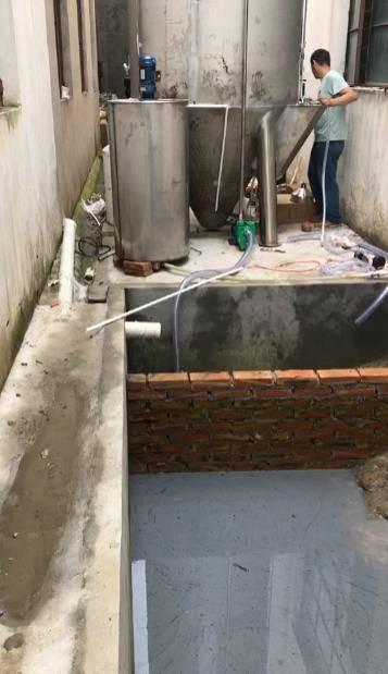 江苏兴化市鸿威通迅器材配件污水处理案例