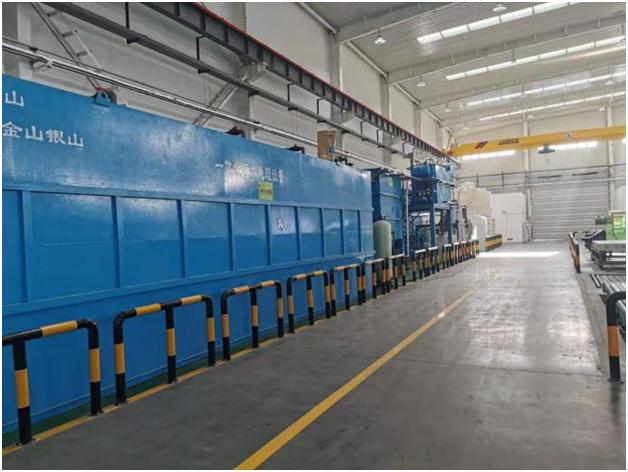 浙江嘉华乐器含铜含锡废水达标排放项目案例