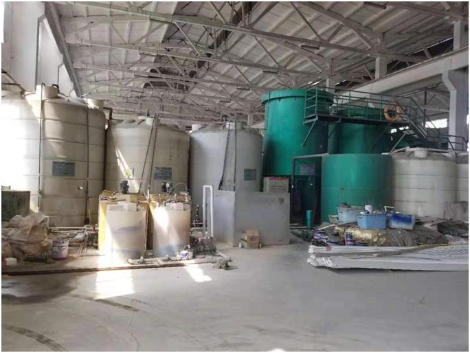 常州斜泰幕墙公司污水处理循环再利用案例
