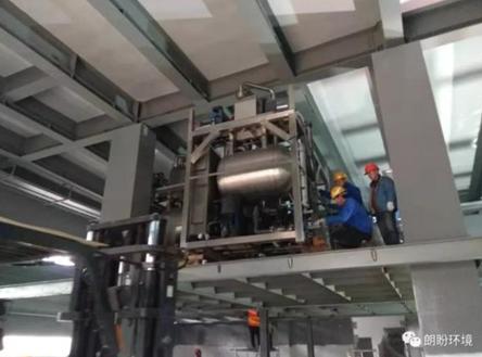 上海某电子公司电镀废水低温蒸发项目案例