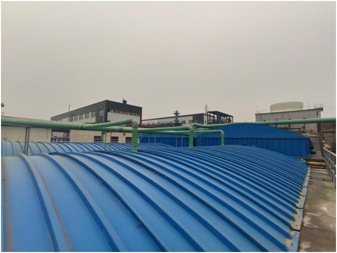 山东瑞纳特化工废水处理工程案例