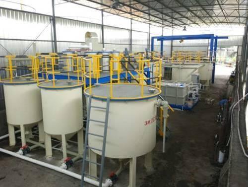 宁波富邦精业公司铝材厂热轧机设备升级改造项目有机废水处理案例