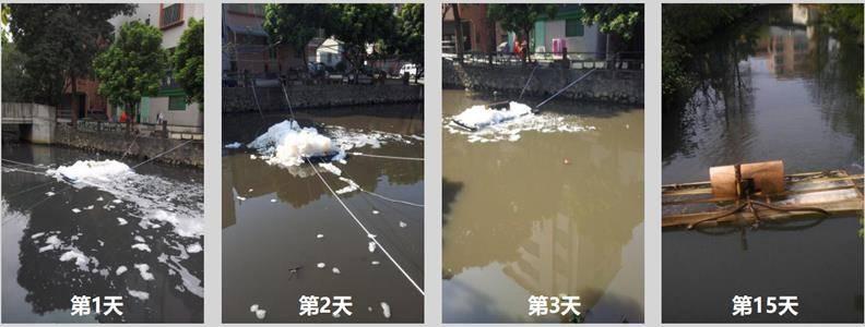 广东佛山溪头涌河道处理案例