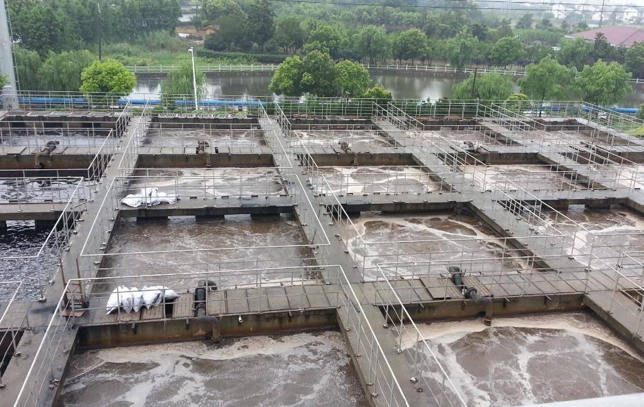 江苏泰州汇丰科技农药废水处理工程催化微电解、A/O工艺案例