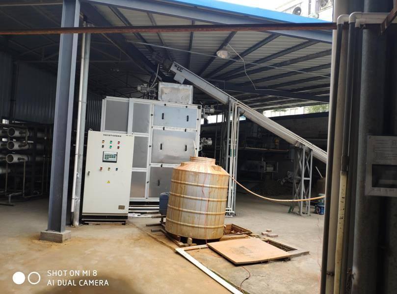 广东坚朗450吨/天污水处理案例