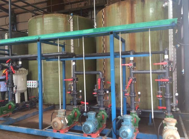 江苏某化工公司重氮偶合废水氨氮处理案例