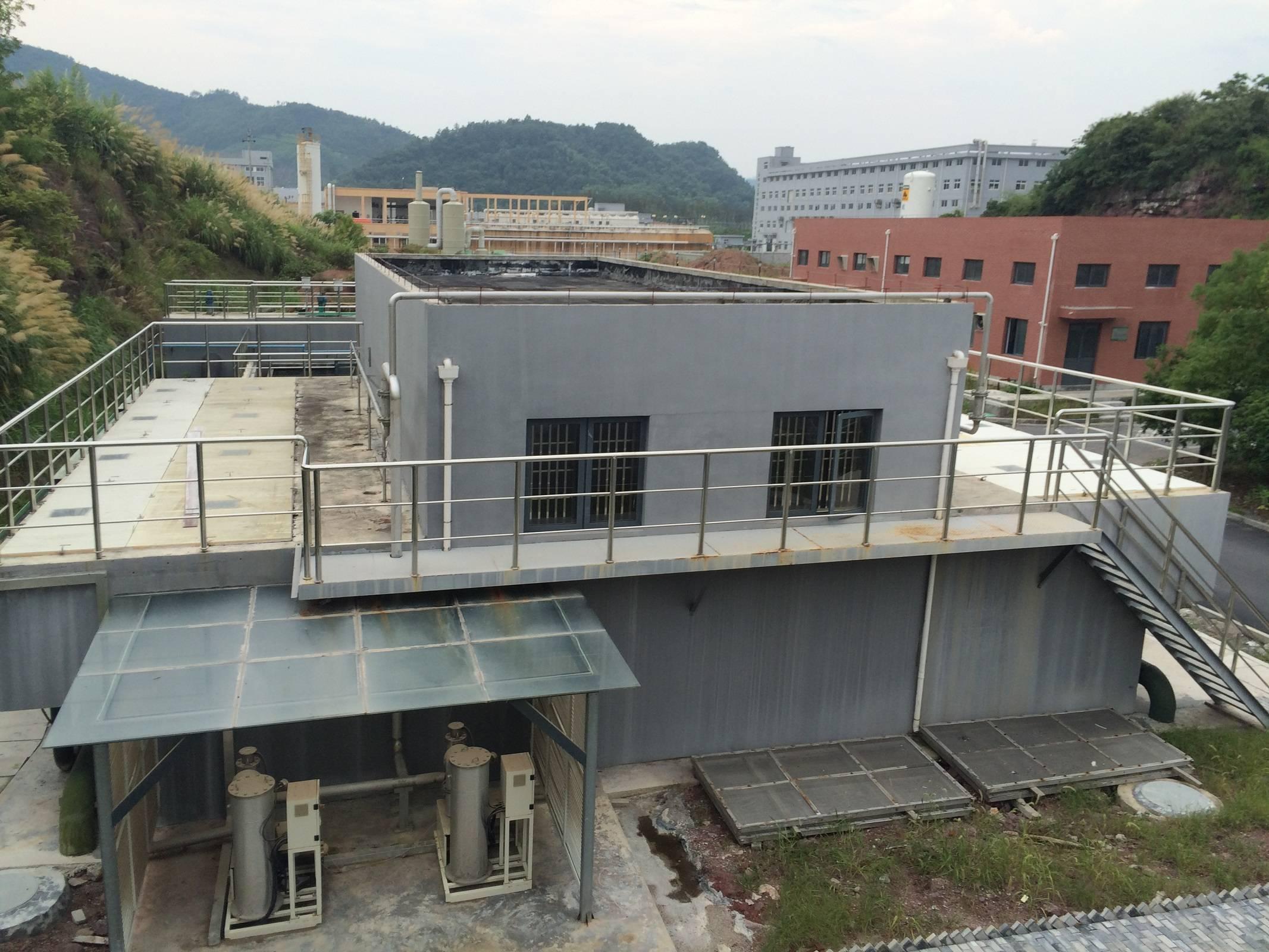 浙江某工业集中式污水处理厂扩建工程案例