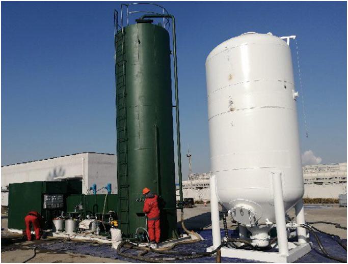 中海油大港渤海油气处理厂污水处理案例